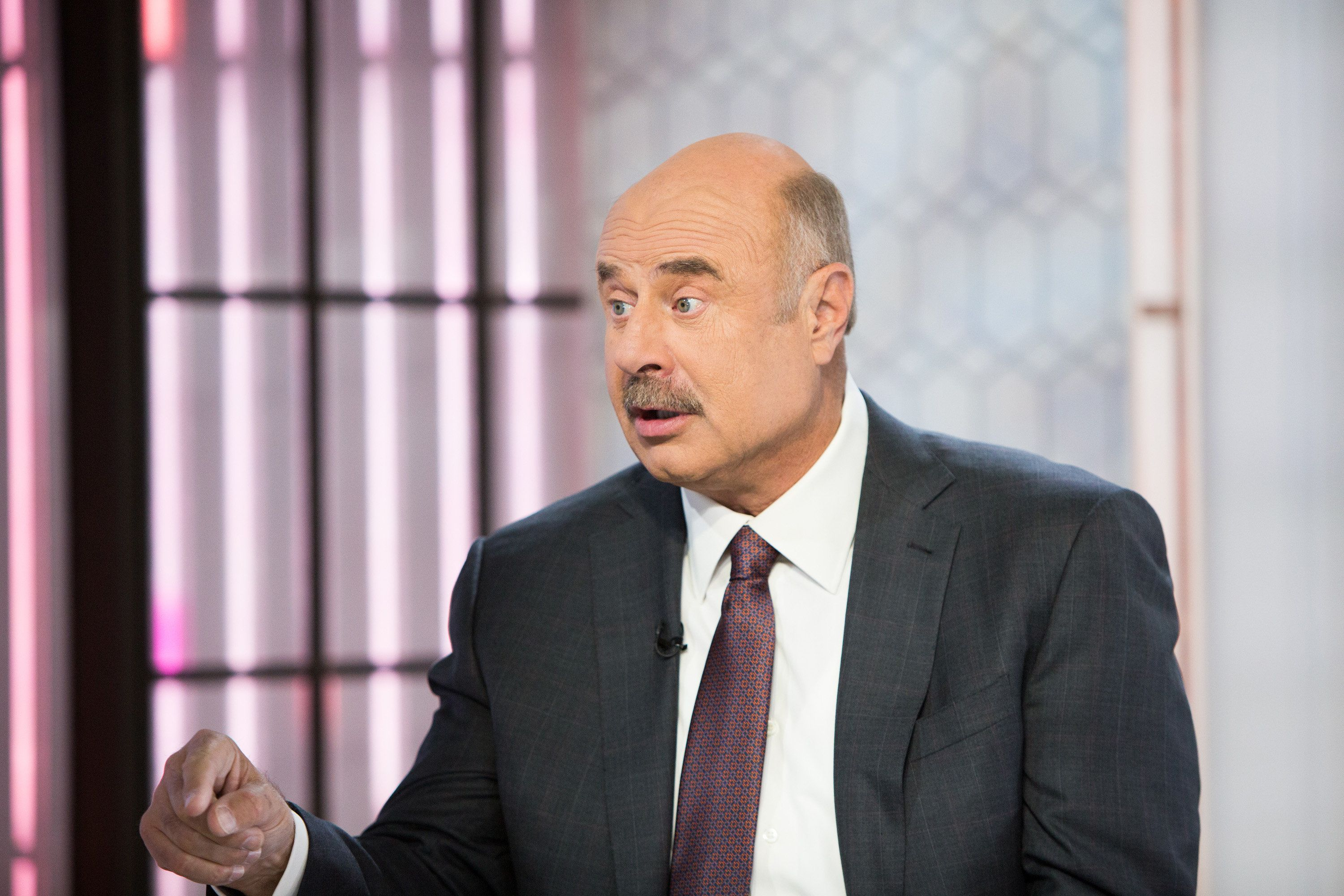 TODAY -- Pictured: Dr. Phil  on Thursday, October 26, 2017 -- (Photo by: Nathan Congleton/NBC/NBCU Photo Bank via Getty Images)