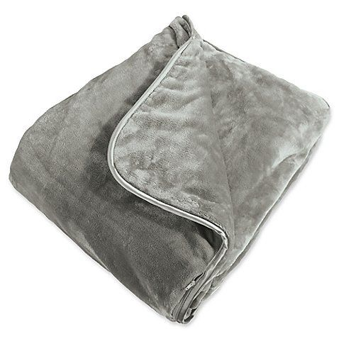 """Prices start at $150. Get it <a href=""""https://www.bedbathandbeyond.com/store/product/brookstone-reg-weighted-blanket/3327204?"""