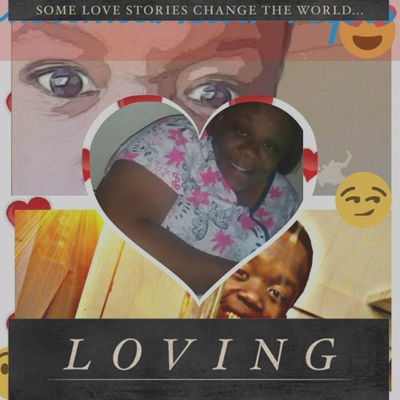 """Some Love Stories Change The World,"" posted by Brandi Mells on social media."