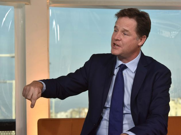 Nick Clegg has been knighted in the New Year's Honours