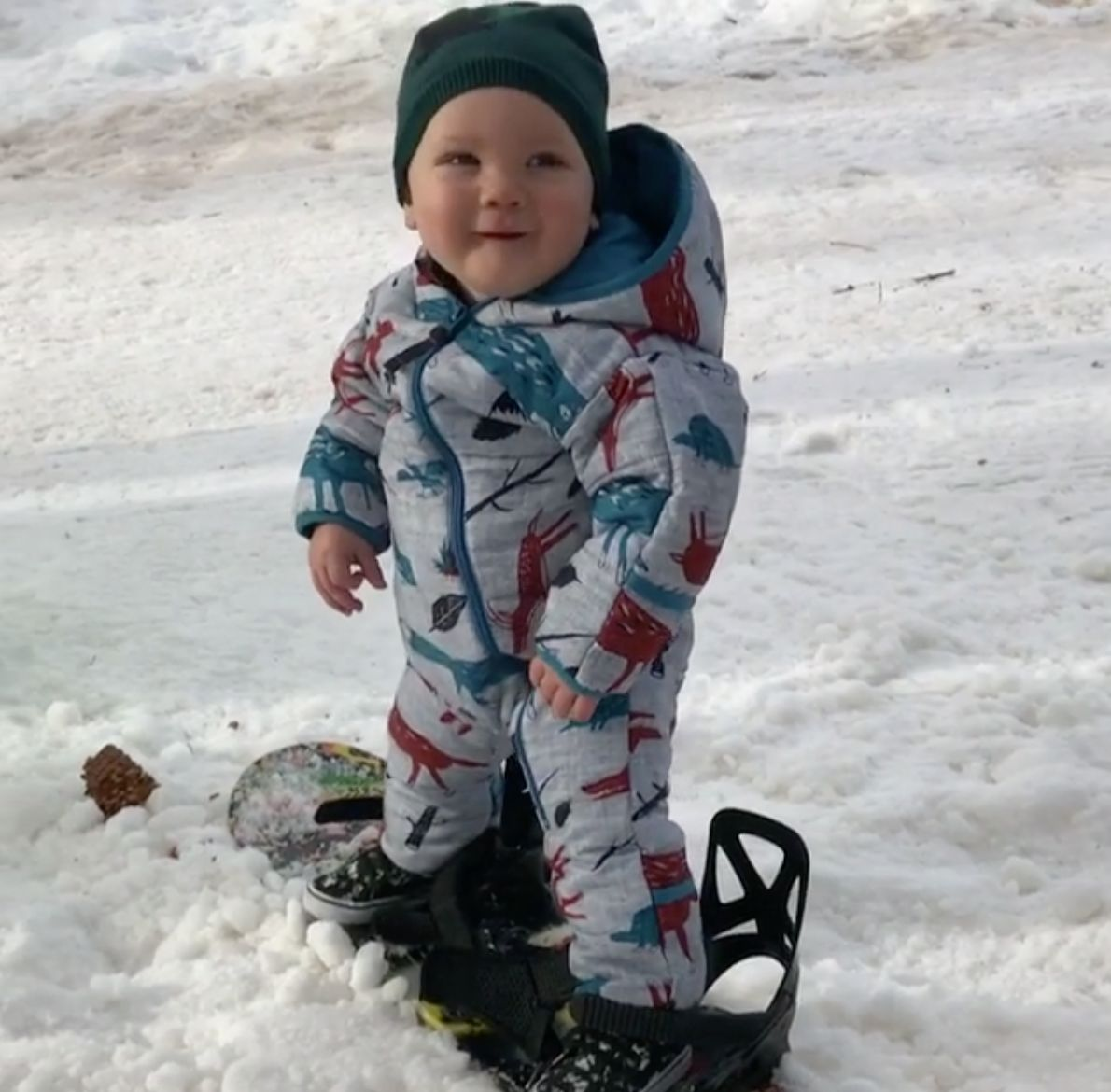 Pink's Son Jameson Is Ready To Hit The Slopes Just Days After His First