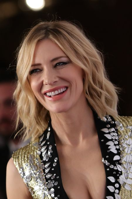 Cate Blanchett handed out the IWC Filmmaker Award to Saudi filmmaker Haifaa Al Mansour for her project 'Miss Camel' at a cere