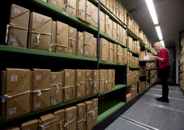 The National Archives have released hundreds of official