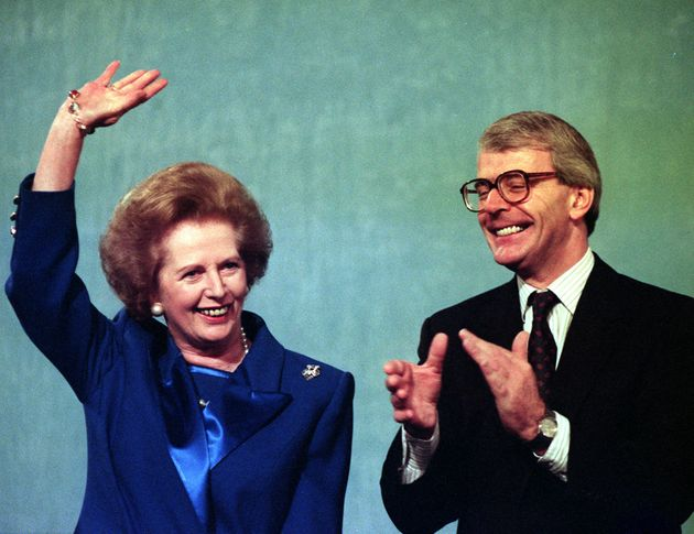 Margaret Thatcher and John Major clashed over the