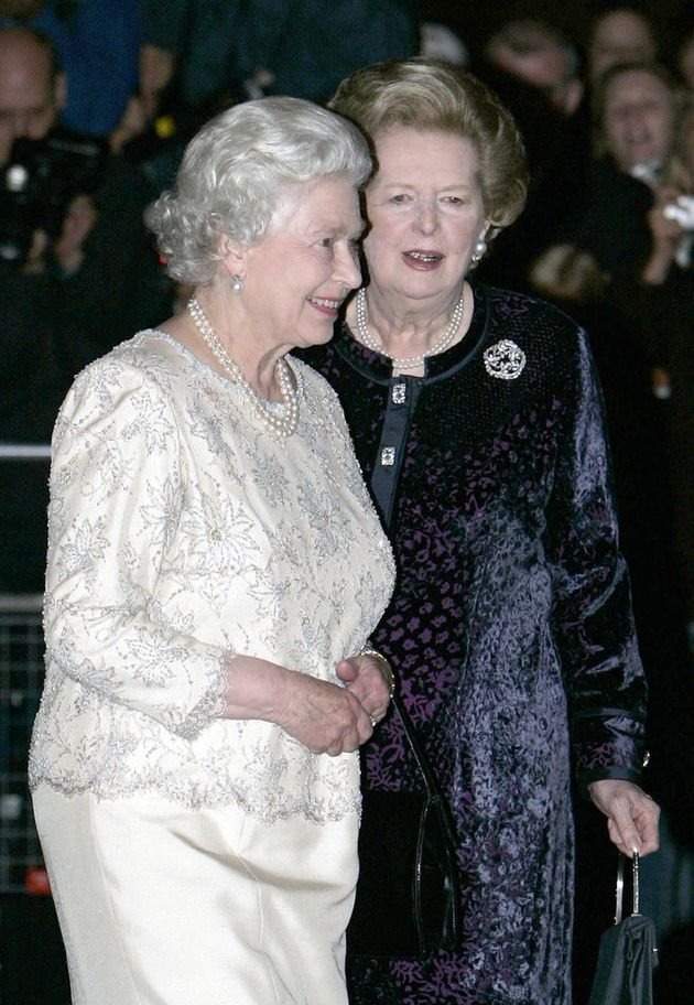 The Queen apparently clashed with Thatcher over South