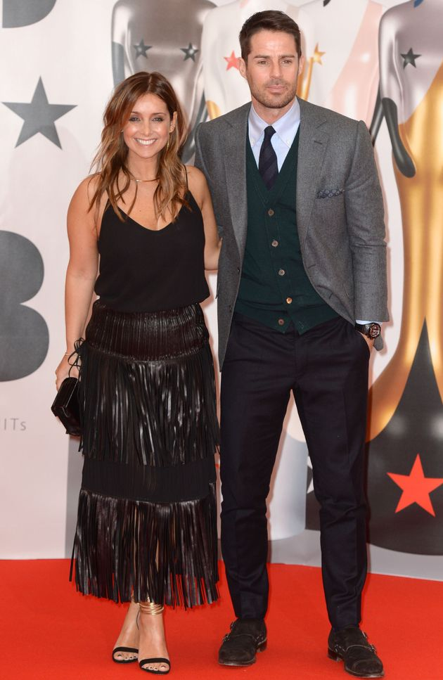 Louise and Jamie at the 2016 Brit