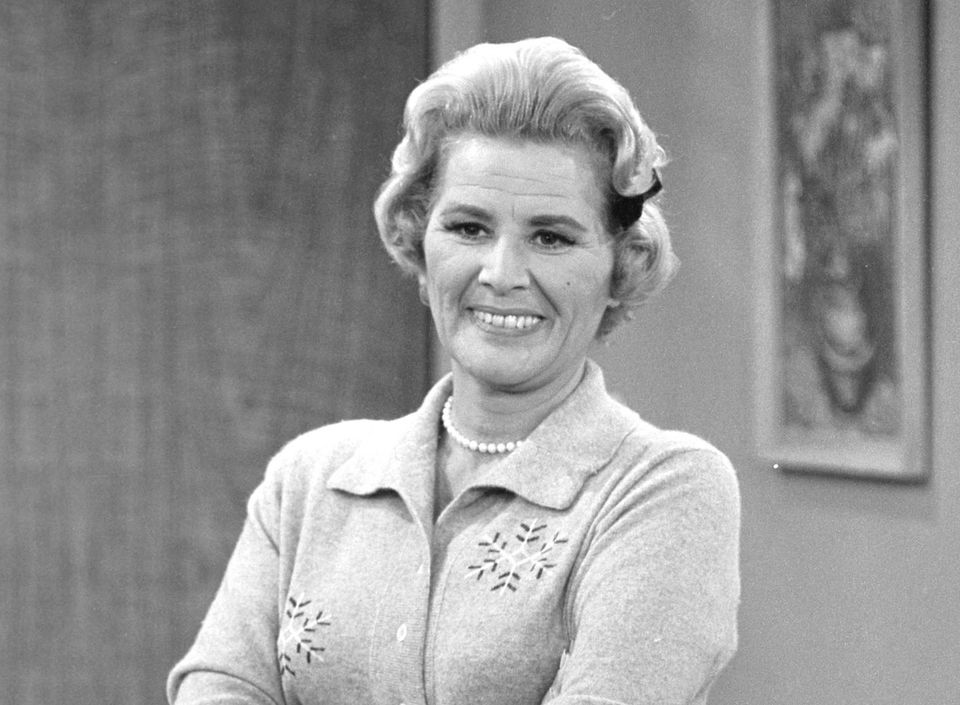 "Actress Rose Marie, who spent 90 years in show business but was best known for playing wisecracking Sally Rogers on ""Th"