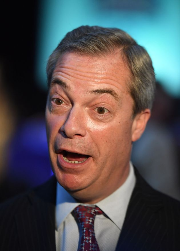 Nigel Farage has complained about not receiving any