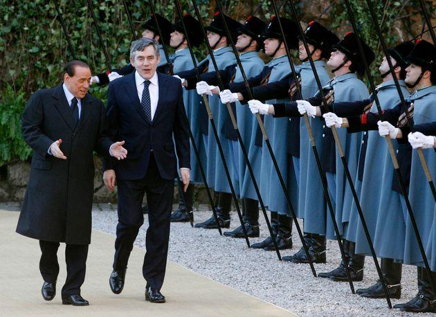 When Silvio Berlusconi Met Gordon Brown: A Christmas Shaggy Dog