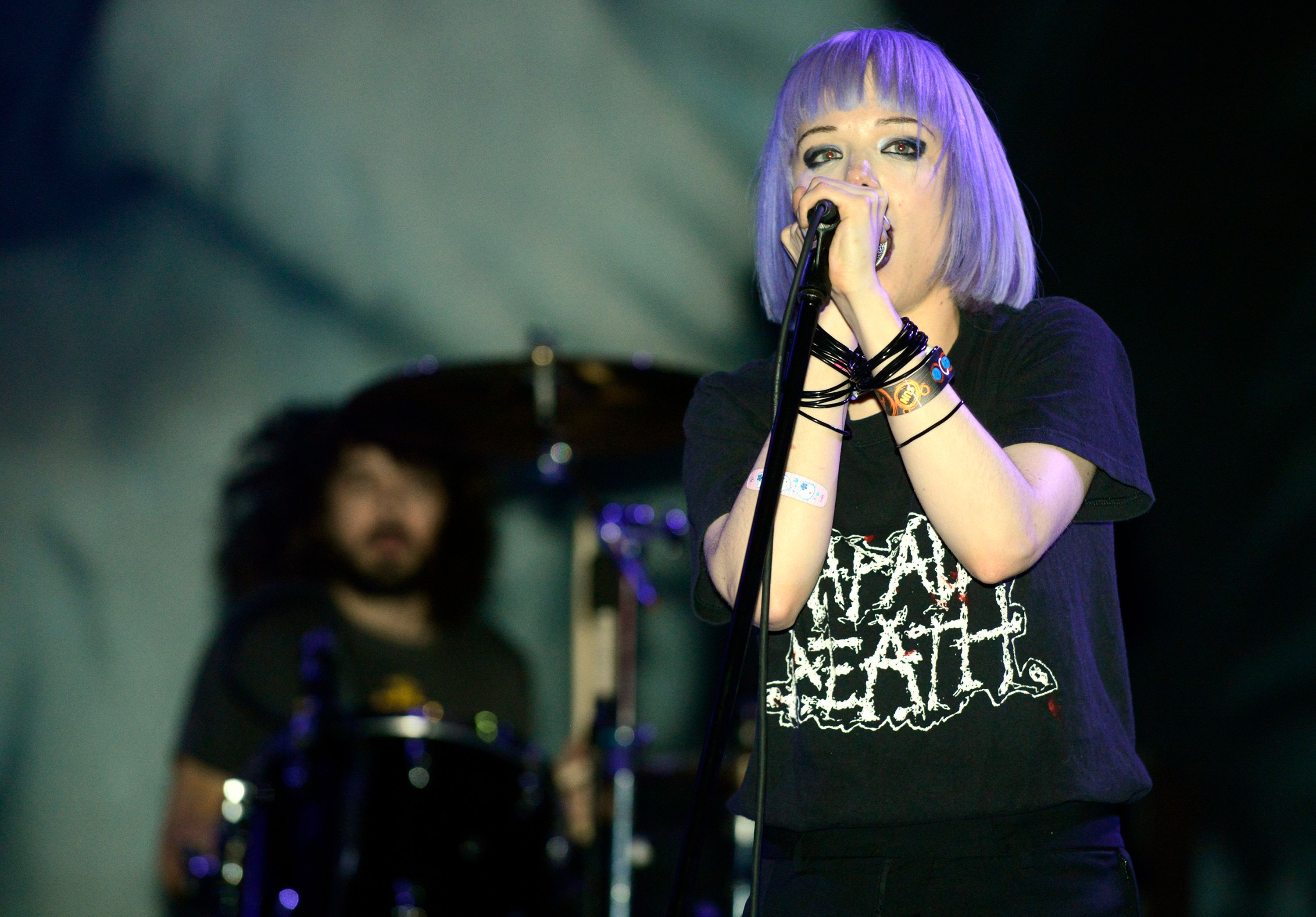 Alice Glass, co-founder of the band Crystal Castles, accused former band member Ethan Kath of mental, physical and