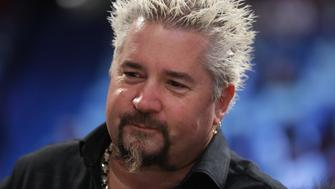 NEW ORLEANS, LA - FEBRUARY 18:  Guy Fieri attends the 2017 Taco Bell Skills Challenge at Smoothie King Center on February 18, 2017 in New Orleans, Louisiana. NOTE TO USER: User expressly acknowledges and agrees that, by downloading and/or using this photograph, user is consenting to the terms and conditions of the Getty Images License Agreement.  (Photo by Ronald Martinez/Getty Images)