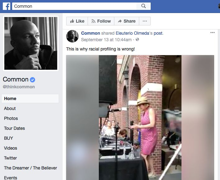 Grammy Nominee Rapper and Actor Common Shared DJ Misbehaviour's Viral Video On His Personal Facebook Page