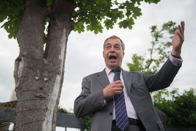Nigel Farage complained he'd not received any honours as 'I am not a