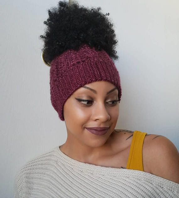 """This <a href=""""https://www.etsy.com/listing/575801849/cable-knit-messy-bun-beanie-knit?ga_order=most_relevant&ga_search_ty"""