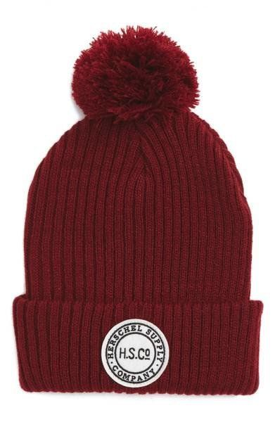 """Beanies for natural hair don't have to be boring. Add some winter chic to your look with this <a href=""""https://shop.nordstrom"""