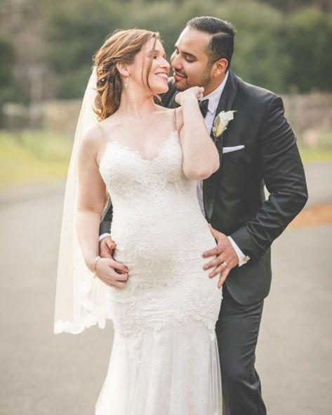 """""""Amanda and Fernando! These two tied the knot atElliston Vineyards.""""—<i>Hazy Lane Studios</i>"""