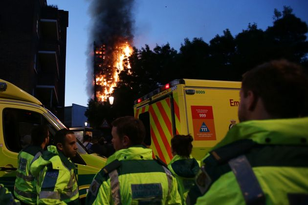 The New Year's honours list this year does not include heroes of the Grenfell Tower fire (pictured) or...