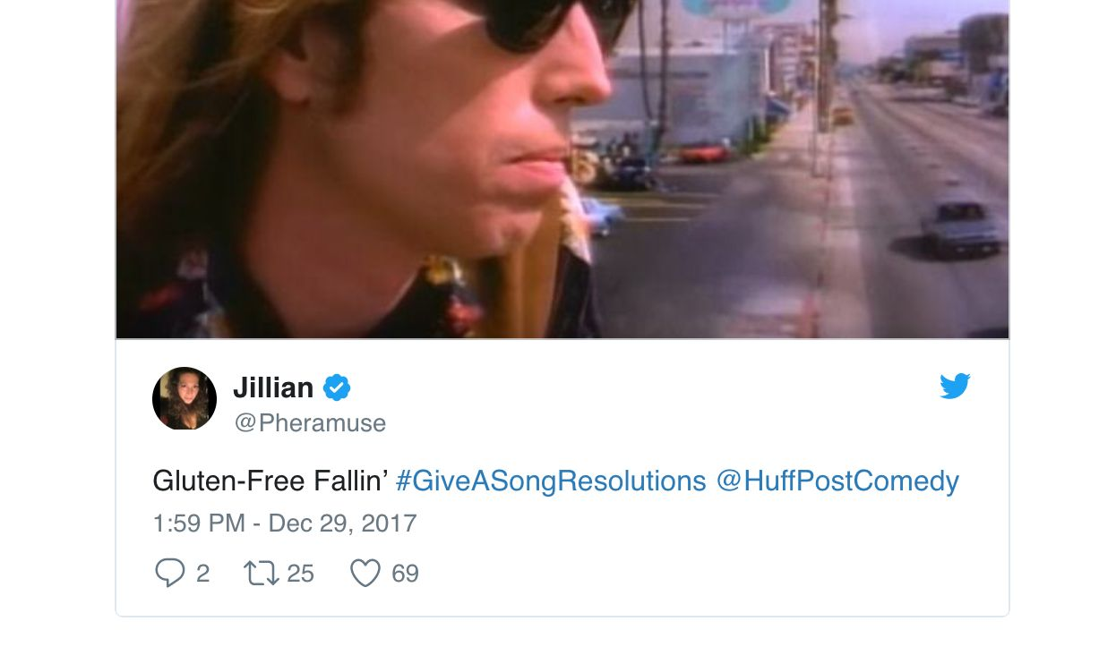 Twitter Users Announce Their New Year's Resolutions Through Song