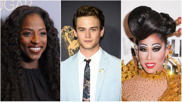 (From left) Rutina Wesley, Brandon Flynn and Gia