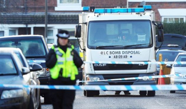 The arrest follows an anti-terror operation which began in South Yorkshire and