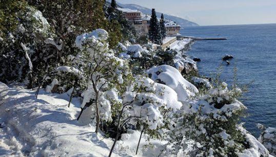 Πρωτοχρονιά στο χιονισμένο Άγιο