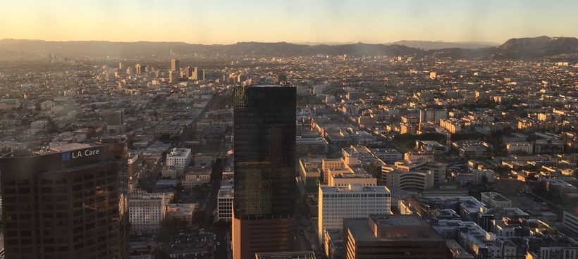 Sunset for the City of Angeles.