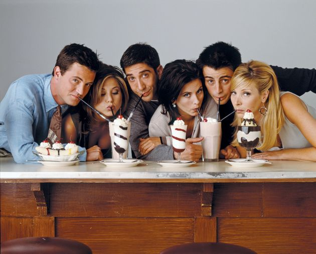 You can now stream every season of 'Friends' via UK Netflix
