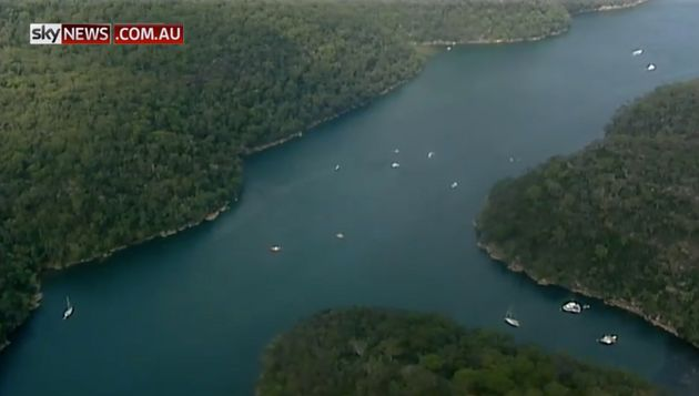 The plane was reportedly turning when it appeared to plunge into the water near Cowan Creek, north of