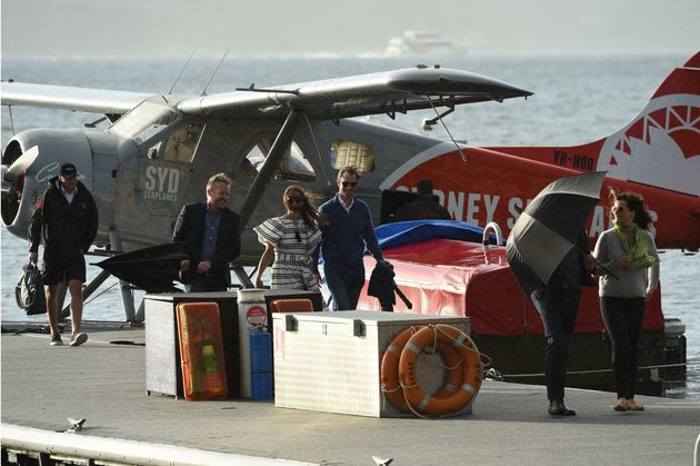 Pippa Middleton and her husband James Matthews took a Sydney Seaplane flight in