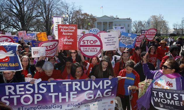 Proteste gegen Trump in
