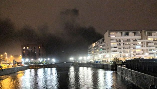 Liverpool Arena Fire: All Vehicles Destroyed As Blaze Tears Through Multi-Storey Car