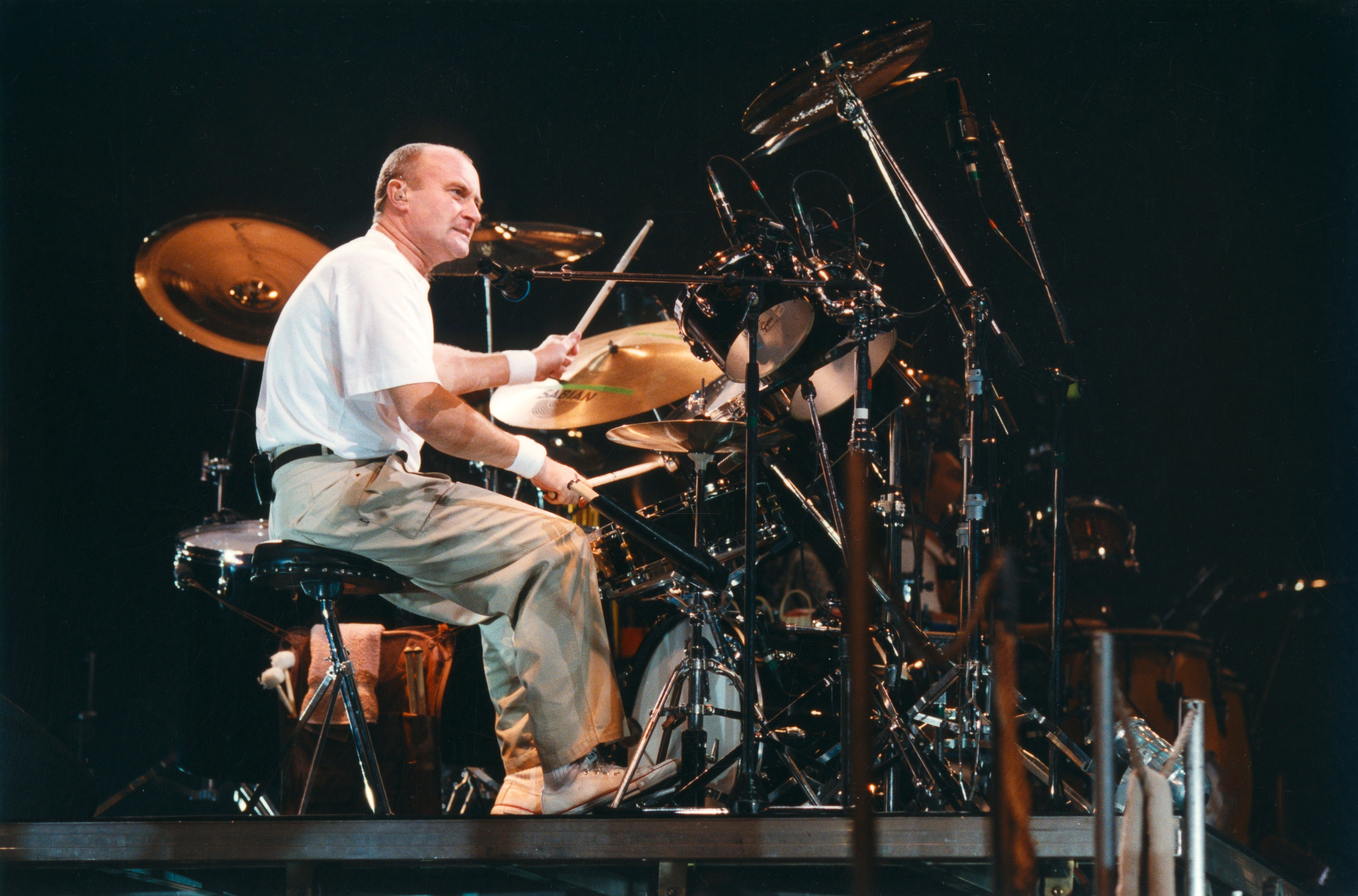 Phil Collins Wants You To See In The New Year With The Drum Solo From 'In The Air