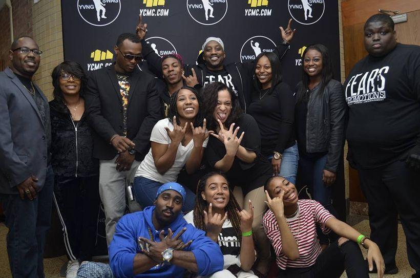Top Row - Left to Right: Tyrah Johnson, Tasha Johnson, JusPaul, Yvng Swag, Jermaine Michael, Bria Harrar, Altina Kamara, and
