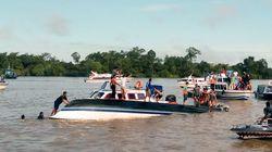 Ινδονησία: Δεκάδες αγνοούμενοι μετά την ανατροπή ταχύπλοου