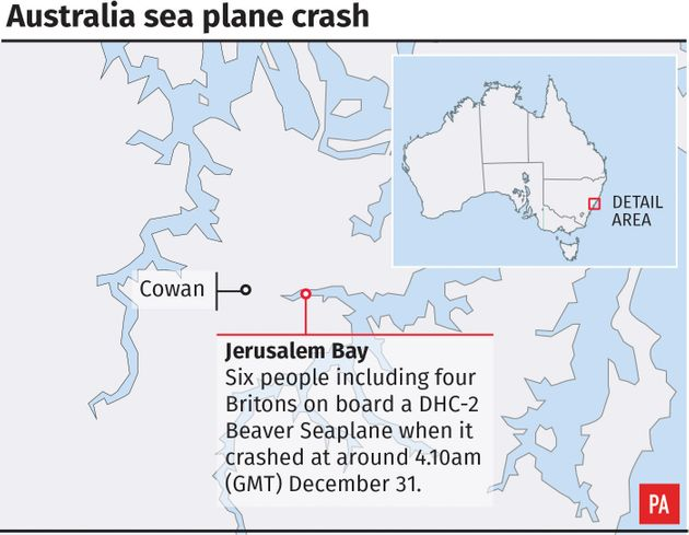 Richard Cousins, Son Will And Emma Bowden Among Five Brits Killed In Sydney Seaplane