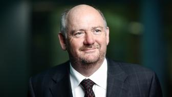 Richard Cousins, chief executive officer of Compass Group Plc, poses for a photograph following a Bloomberg Television interview in London, U.K., on Wednesday, May 11, 2016. Compass Group provides catering and support services in countries throughout the world. Photographer: Simon Dawson/Bloomberg via Getty Images