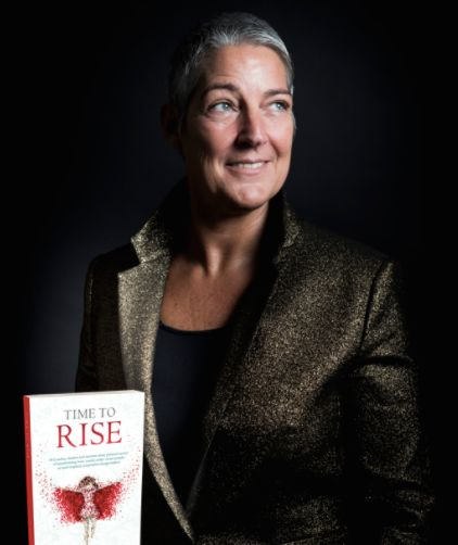 Time to Rise author, Leslie van Oostenbrugge