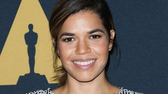 LOS ANGELES, CA - OCTOBER 16:  Actress America Ferrera attends the screening of 'Real Women Have Curves' at The Academy Of Motion Picture Arts And Sciences on October 16, 2017 in Los Angeles, California.  (Photo by Paul Archuleta/FilmMagic)