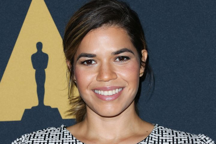 America Ferrera has announced that she is expecting her first child with husband Ryan Piers Williams.