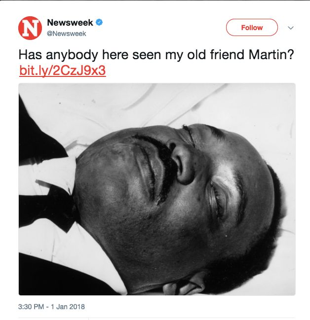 Bernice King Calls Out Newsweek For Insensitive Mlk Tweet