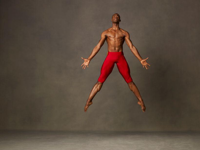 Alvin Ailey American Dance Theater's Jamar Roberts.