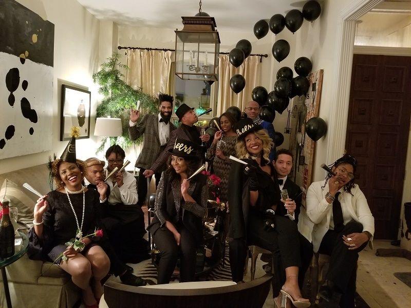 Afro-Ritz New Year's Eve celebration.