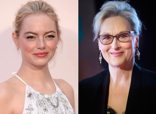 Emma Stone and Meryl Streep are backing the Time's Up