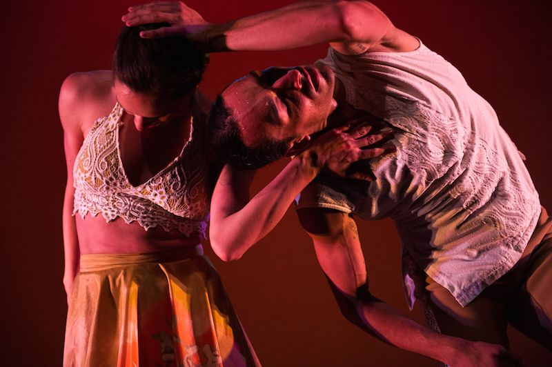 Diana Winfree and Lyvan Verdecia in Michelle Mananales' <em>Con Brazos Abiertos</em>