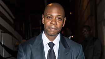 NEW YORK, NY - SEPTEMBER 14:  Comedian Dave Chappelle is seen during Rihanna's 3rd Annual Diamond Ball Benefitting The Clara Lionel Foundation at Cipriani Wall Street on September 14, 2017 in New York City.  (Photo by Gilbert Carrasquillo/GC Images)