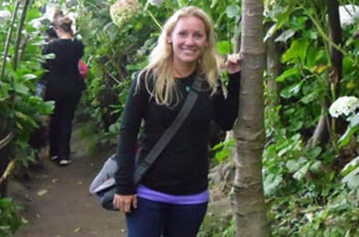 Amanda Geissler was a tour guide for Backroads travel company.