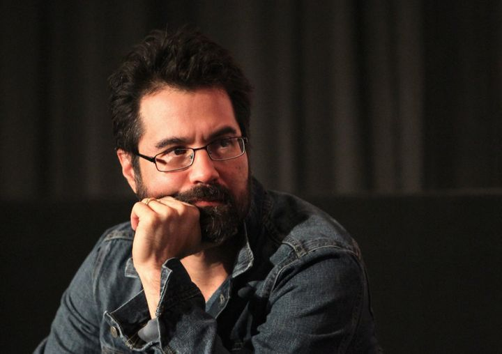 "Comic book writer Greg Pak, seen here in 2013, created the <a href=""https://twitter.com/hashtag/AsAmCreatorRollCall"