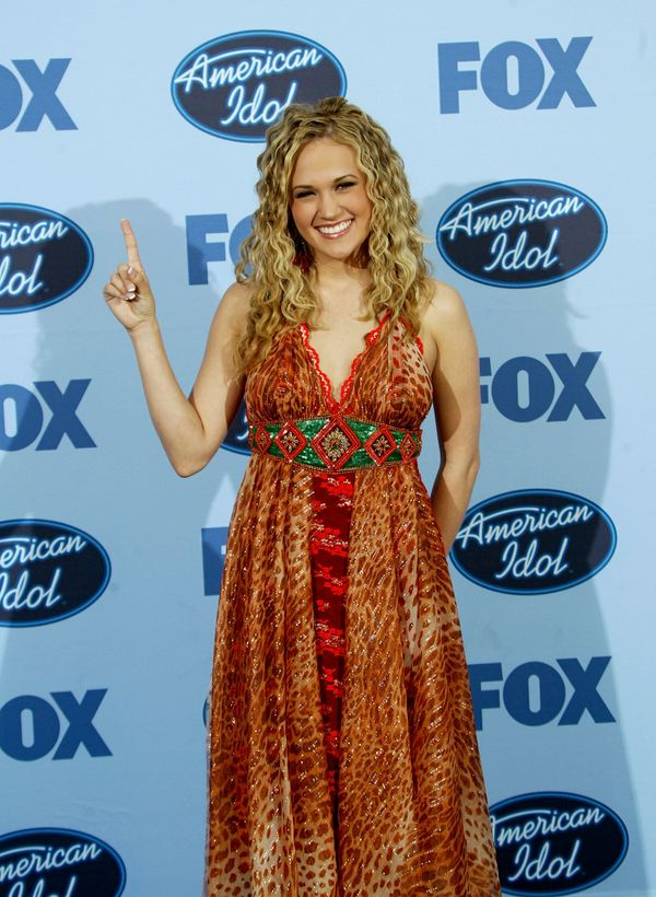 "After winning ""American Idol"" Season 4."