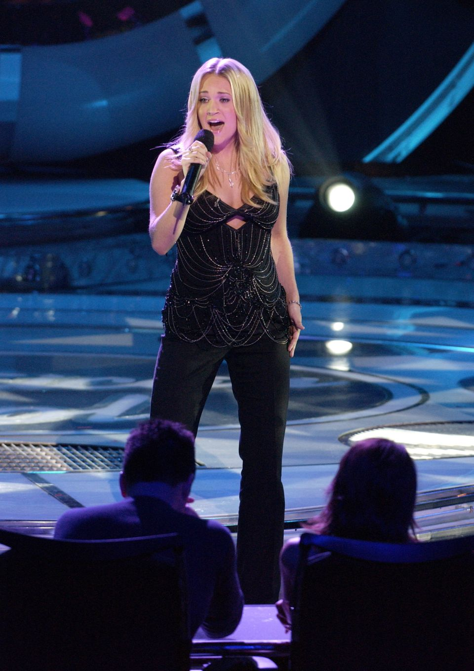 "Performing on ""American Idol."""