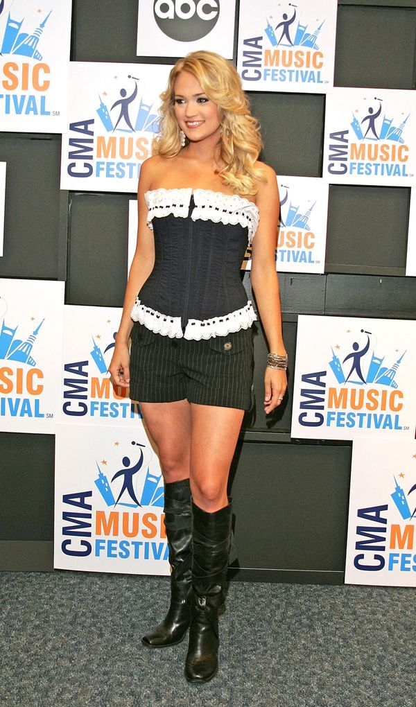 At the CMA Music Festival on June 10, 2006 in Nashville, Tennessee.